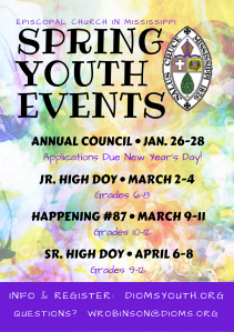 Spring Youth Events