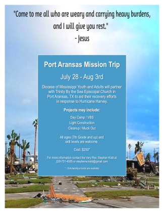 Coast to Coast Mission Trip